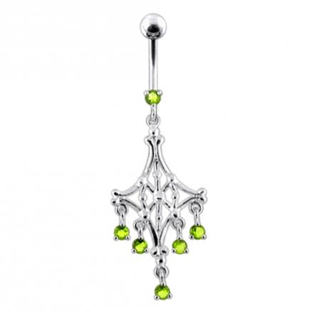 Chandelier Dangling Belly Ring