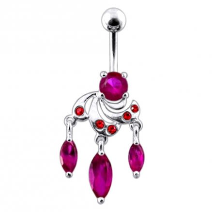 Fantasy Look  Dangling  Belly Ring
