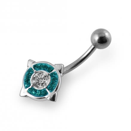 Fancy Coloured Belly Ring