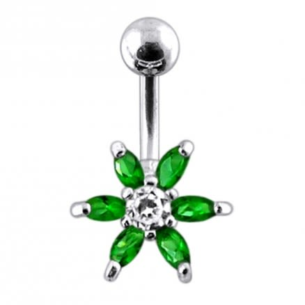Surgical Grade Steel Curved Belly Ring PBN592