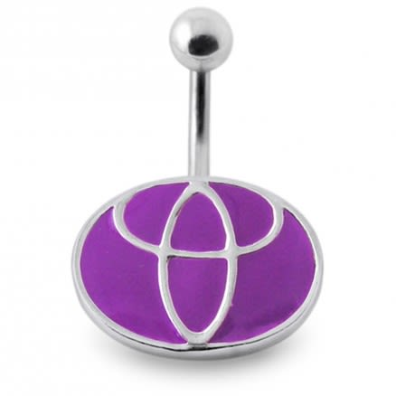 Silver Belly Ring