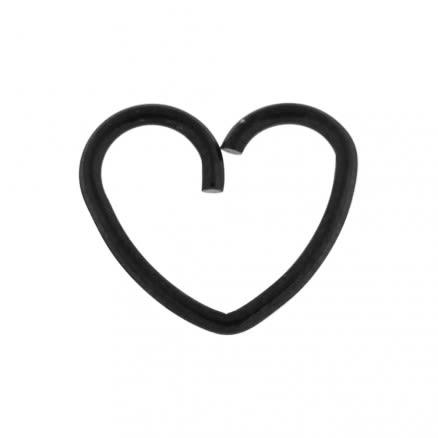 Heart Cartilage Single Closure Daith piercing Ring