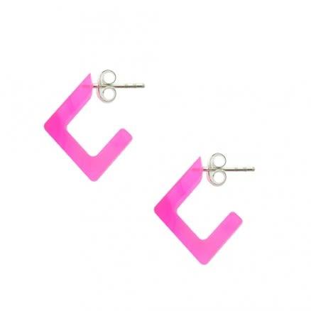 Pink UV Ear Hoop
