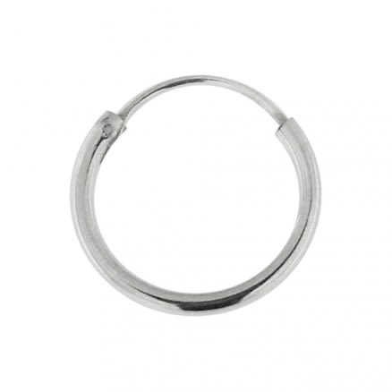 925 Sterling Silver Segment Hoop Nose Ring