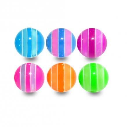 UV Multi Stripe Balls