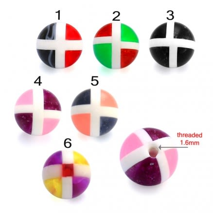 Assorted Undefined  Square Fancy UV balls