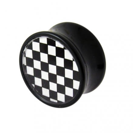 Checker Logo Ear Plug