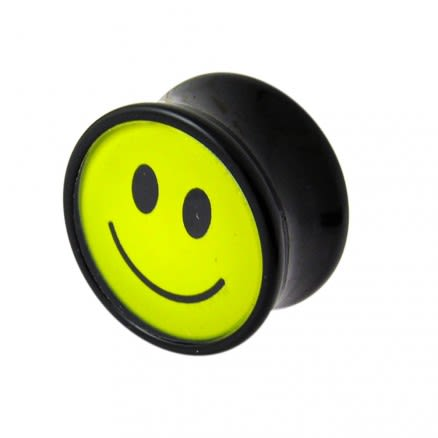 Smiley Logo Ear Plug