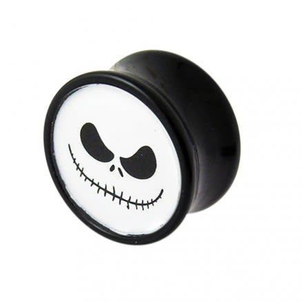 Double Flared Mr.Jack Logo Ear Plug