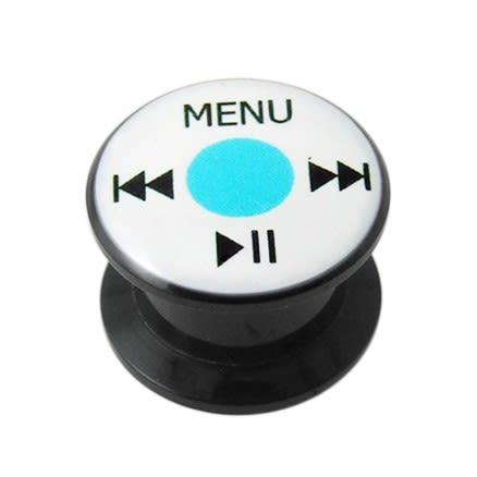 Ipod UV Internal Screw Fit Ear Tunnel