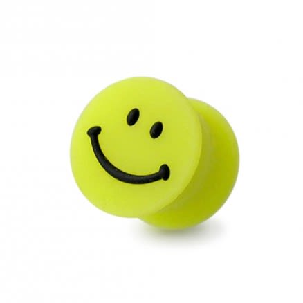Silicon Smiley Magnetic Ear Plug