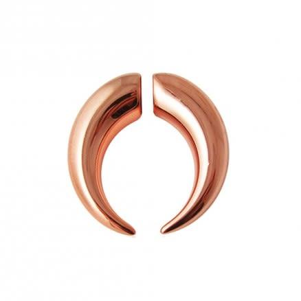 Rose Gold UV Magnetic Fake Ear Plug