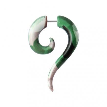 Army Pattern Long Tail Fake Ear Plug