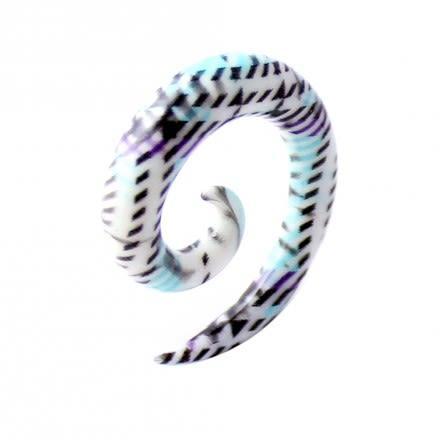 Multi Stripe Patterns Spiral Expander