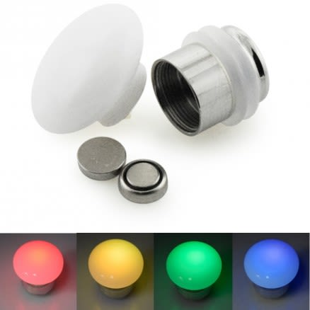 Multi Color Changing LED Ear Flesh Tunnels