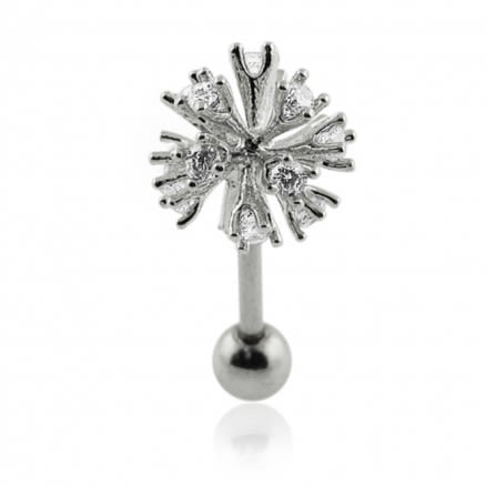 Firework Crackle Tragus Piercing Earring