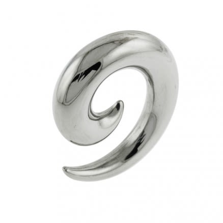 Hollow Surgical Steel Spiral Ear Expander