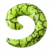 Spiral Stretching Ear Plugs Gauges Flesh Tunnels Stretchers