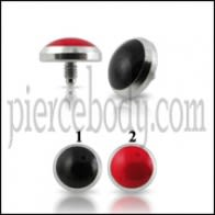 SS Dragon Eye Dermal Anchor Tops | Dermal Anchors