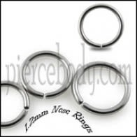 316L Surgical Steel Nose Ring