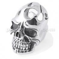 Juokiasi Broken Skull Ring Finger