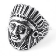 Native American Indian Man Ring Finger