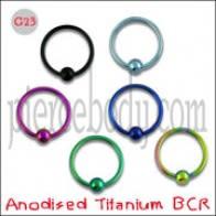 G23 анадаваны тытан BCR