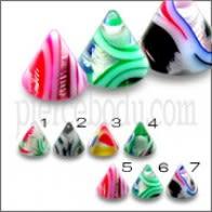 Color Mix Paquete de Selección UV Fantasía Lip Cella Acrílico Cono