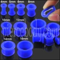 Dark Blue Silicone Ear Plug