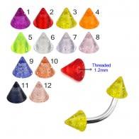 UV Fancy Cones With Multi Color