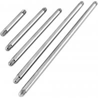 Threaded Straight Barbells