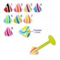 UV Acrylic Fancy Cones