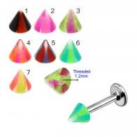 UV Fancy Colorful Cone