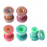 Fancy Color UV Ear Tunnel Plug