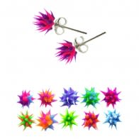 Soft Spiky Silicone Ear Stud
