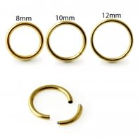 Gold Anodized Segment Rings