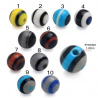 Fancy Stripe UV Balls