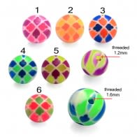 UV Fancy MIx Color Balls