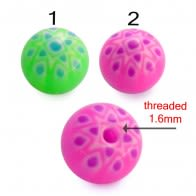 UV Acrylic Art Pattern Fancy Balls