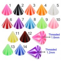 UV Fancy Colorful Beach Ball Type Cone Accessories