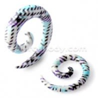 Multi Stripe Patterns Spiral Expander
