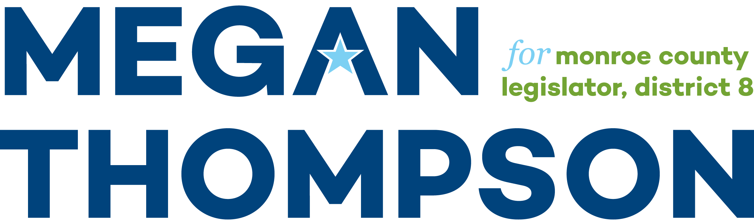 Megan Thompson  for Monroe County Legislator