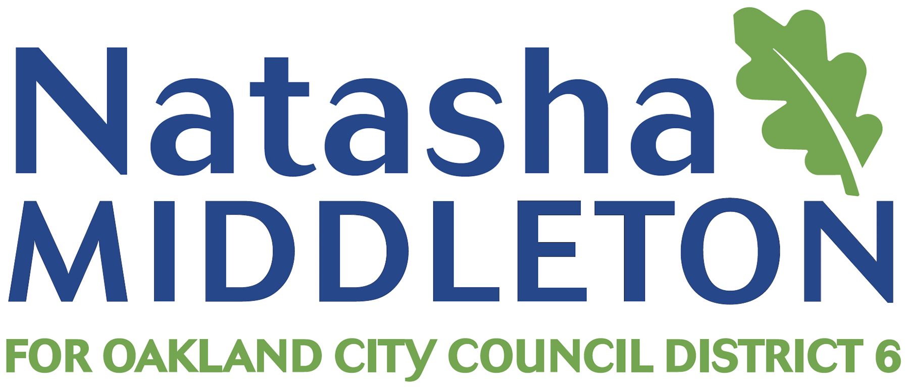 Natasha Middleton  for Oakland City Council - District 6