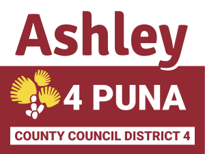 Ashley Kierkiewicz  Hawai'i County Council, District 4