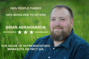 Brian Abrahamson  for Minnesota State House (MN-HD-22A)