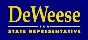 James DeWeese  For State Representative
