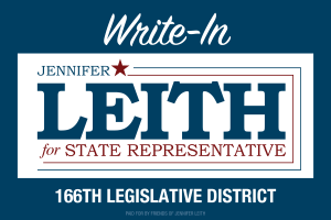 Jennifer Leith  for Pennsylvania House of Representatives District 166