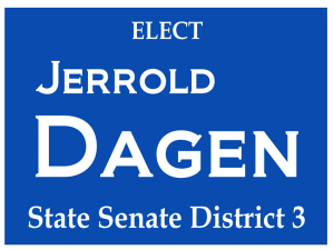 Jerrold Dagen  Georgia State Senate District 3