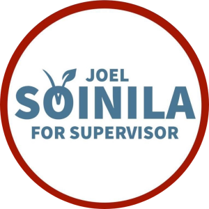 Joel Veikko Soinila Supervisor 2020  Second District Mendocino County Supervisor