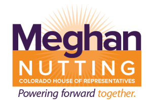 Meghan Nutting  for Colorado State House of Representatives District 5